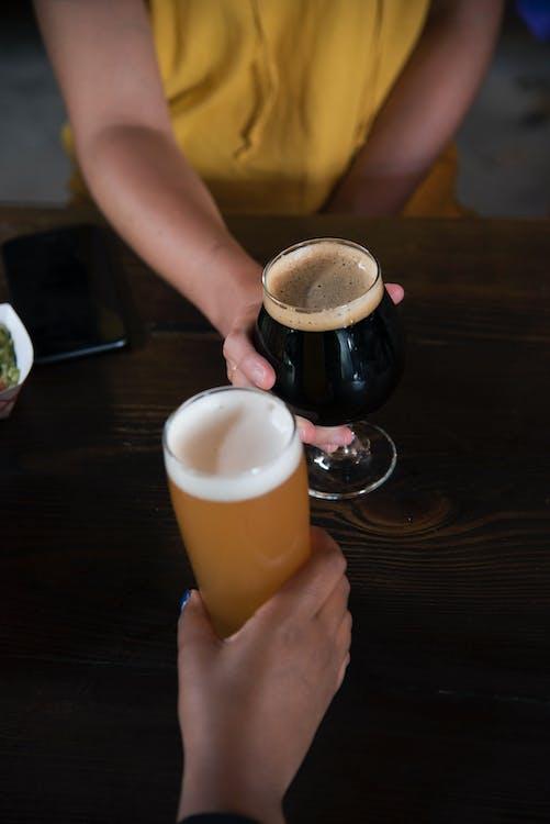 alcool, bar, barre