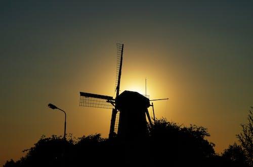 傍晚的天空, 咖啡磨豆機, 天空, 太陽 的 免费素材照片