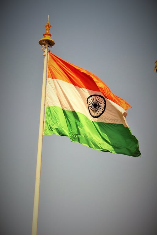 Free stock photo of Indian flag