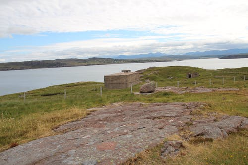 Foto stok gratis batu, bunker, danau, hijau