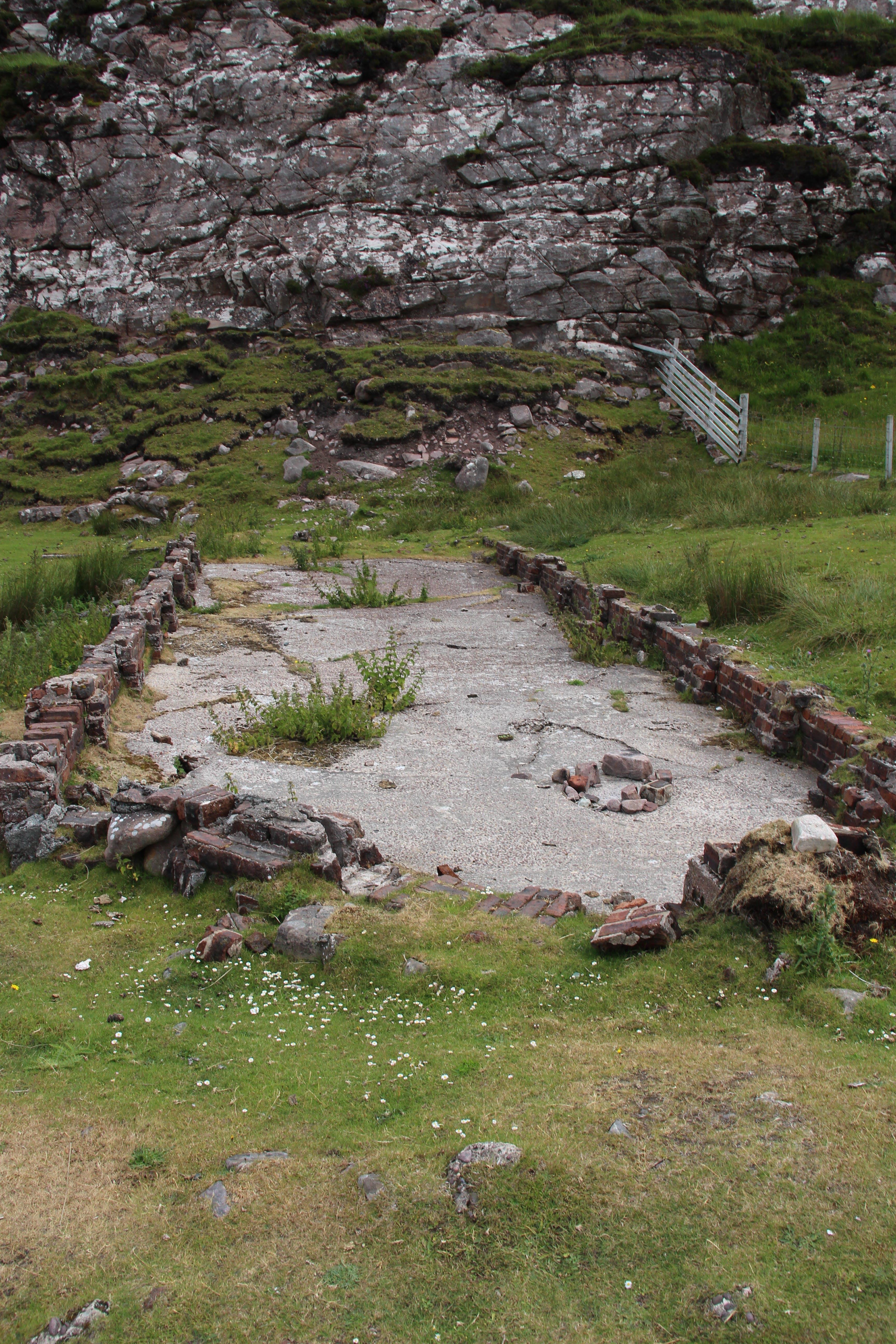 Free stock photo of grass, ground, rocks, ruins