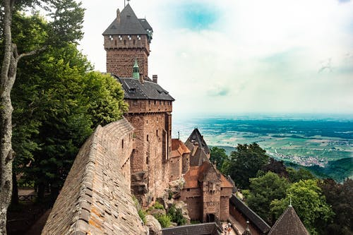 Free stock photo of alsace, castle, france