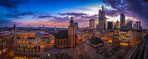 Free stock photo of panorama, skyline