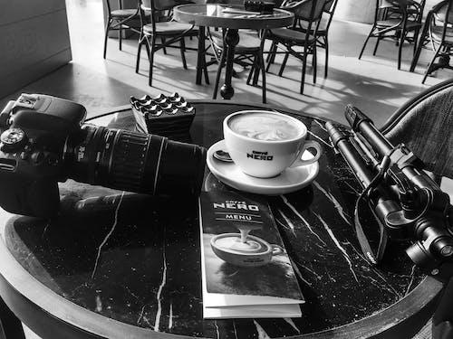 Kostenloses Stock Foto zu bar cafe, kameraausrüstung