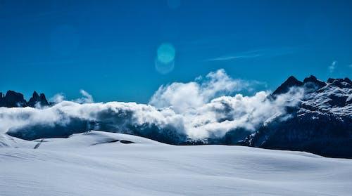 겨울, 눈, 산의 무료 스톡 사진