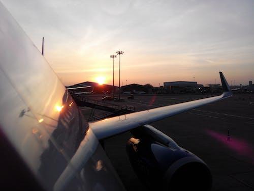 Free stock photo of a320, aeroplane, aircraft, aircraft wing