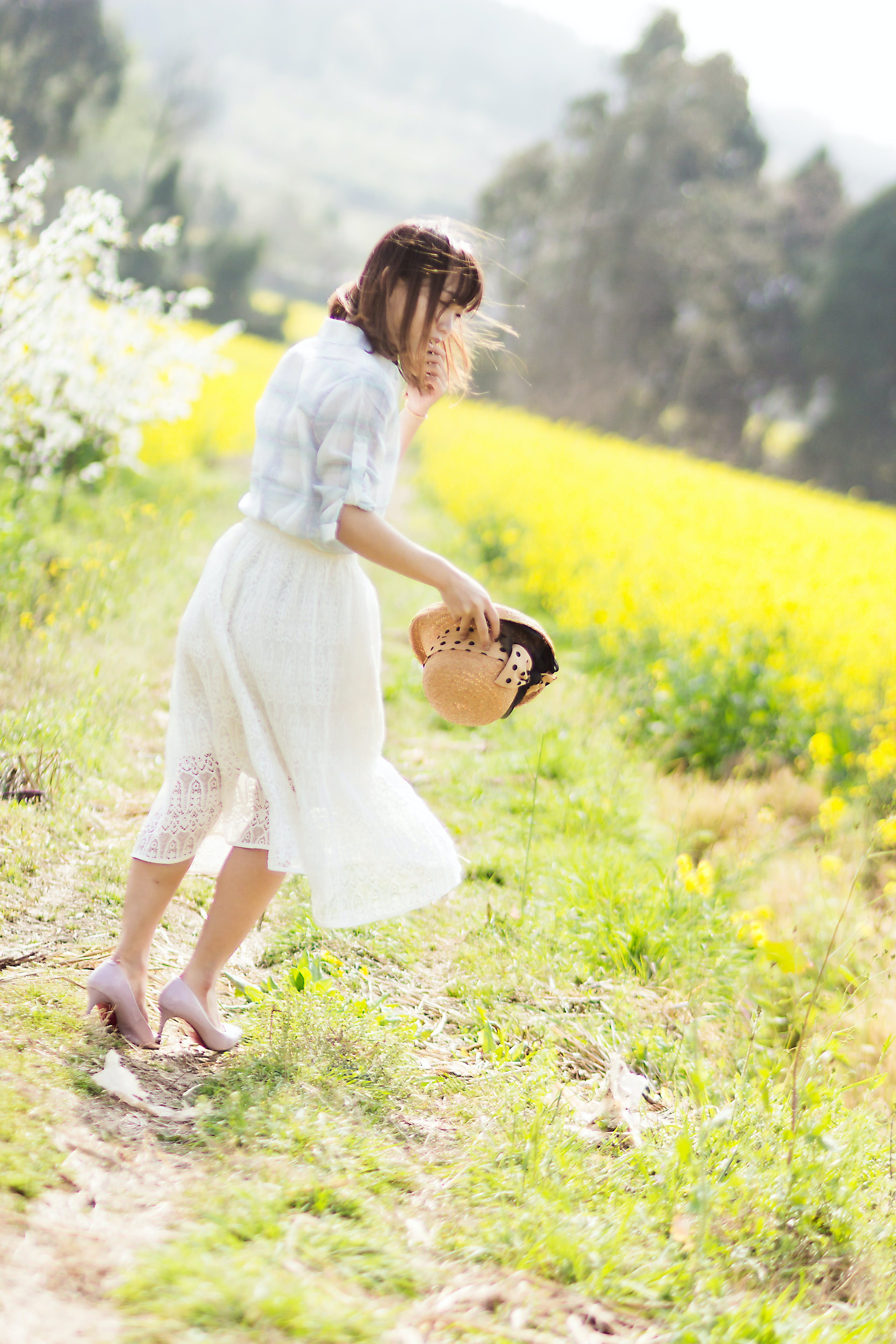 Free stock photo of person, women, countryside, lovely