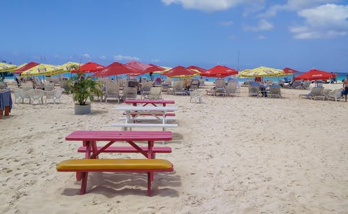 คลังภาพถ่ายฟรี ของ ชายหาด, ทราย, ท้องฟ้า, บริเวณท่าเรือ