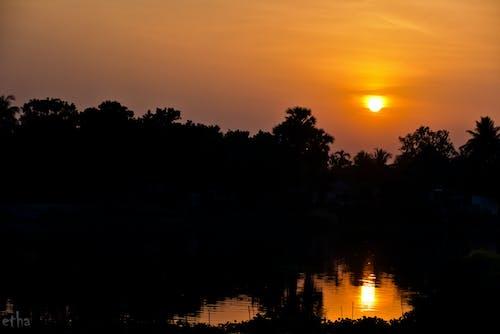 天性, 日落, 豐富多彩 的 免費圖庫相片