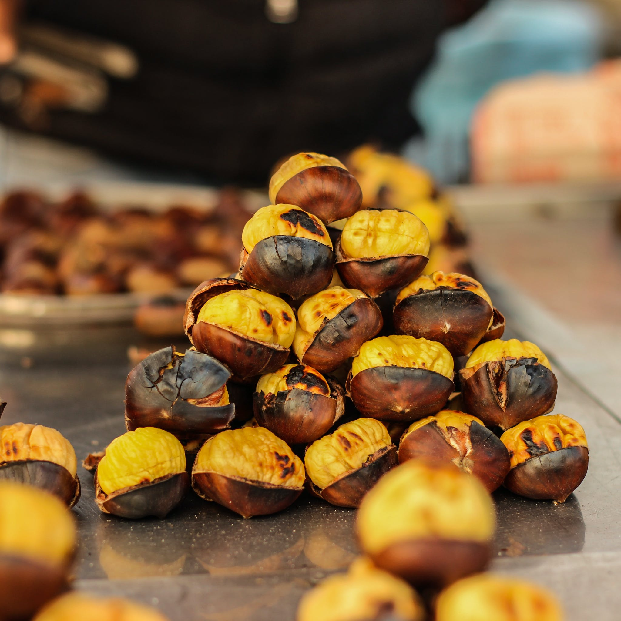 Free stock photo of baked, baked goods, chestnut, chestnuts