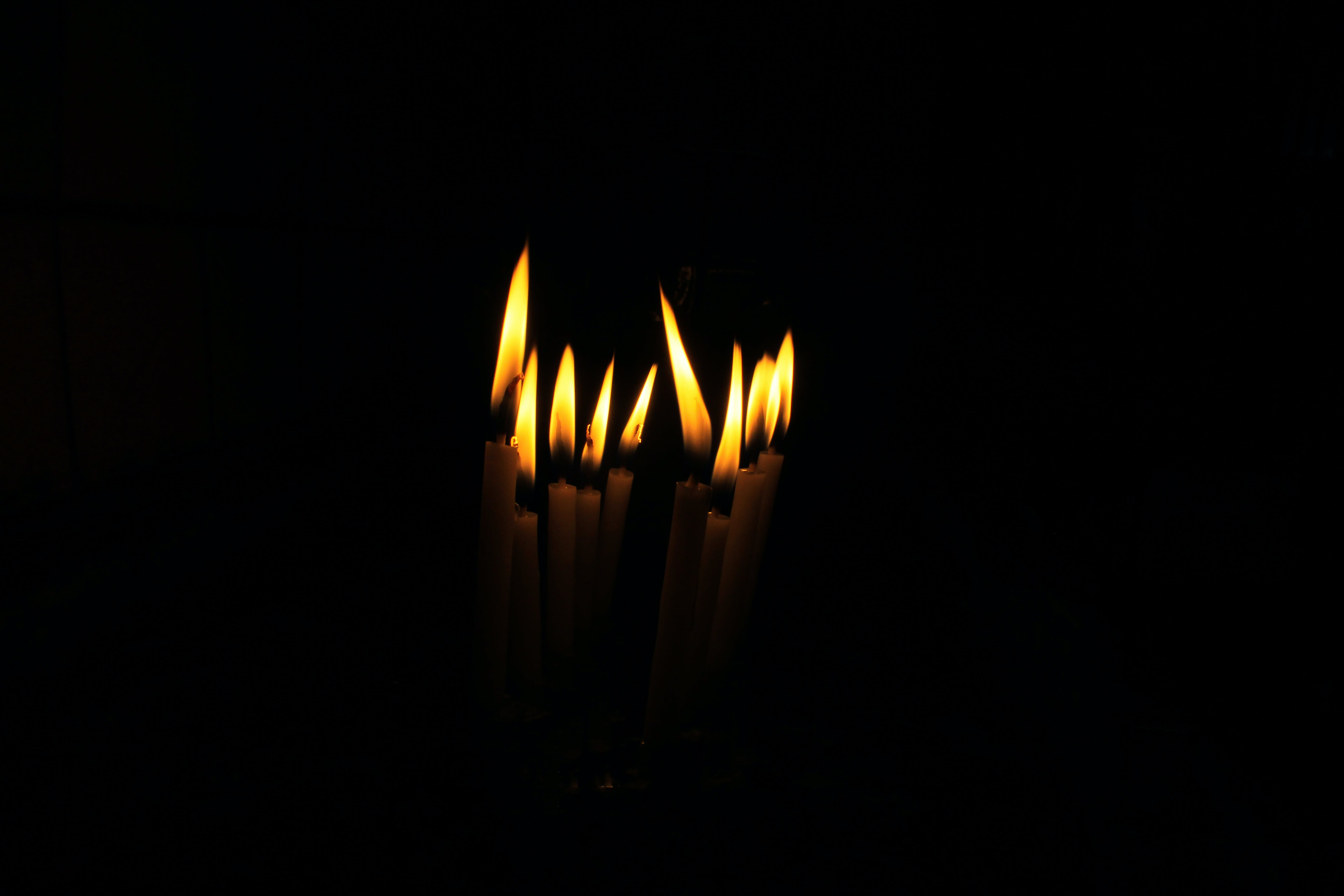 Free stock photo of black, candle, candle wax, candlelight