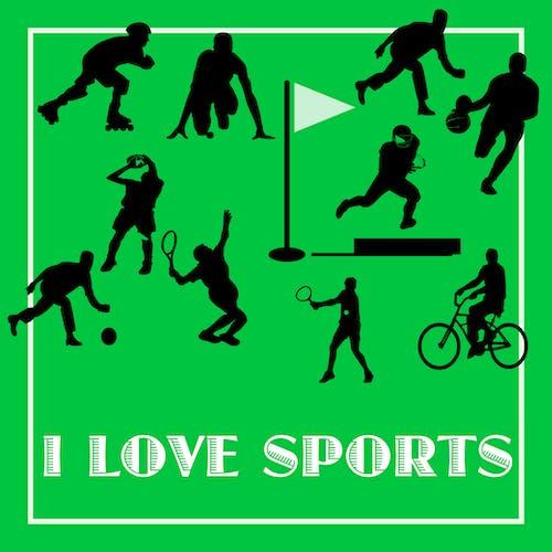 私はスポーツが好きkensartの無料の写真素材