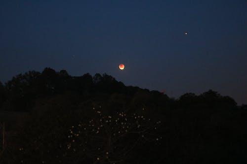 Gratis lagerfoto af eclipselunar, formørkelse, lua de sangue, måne
