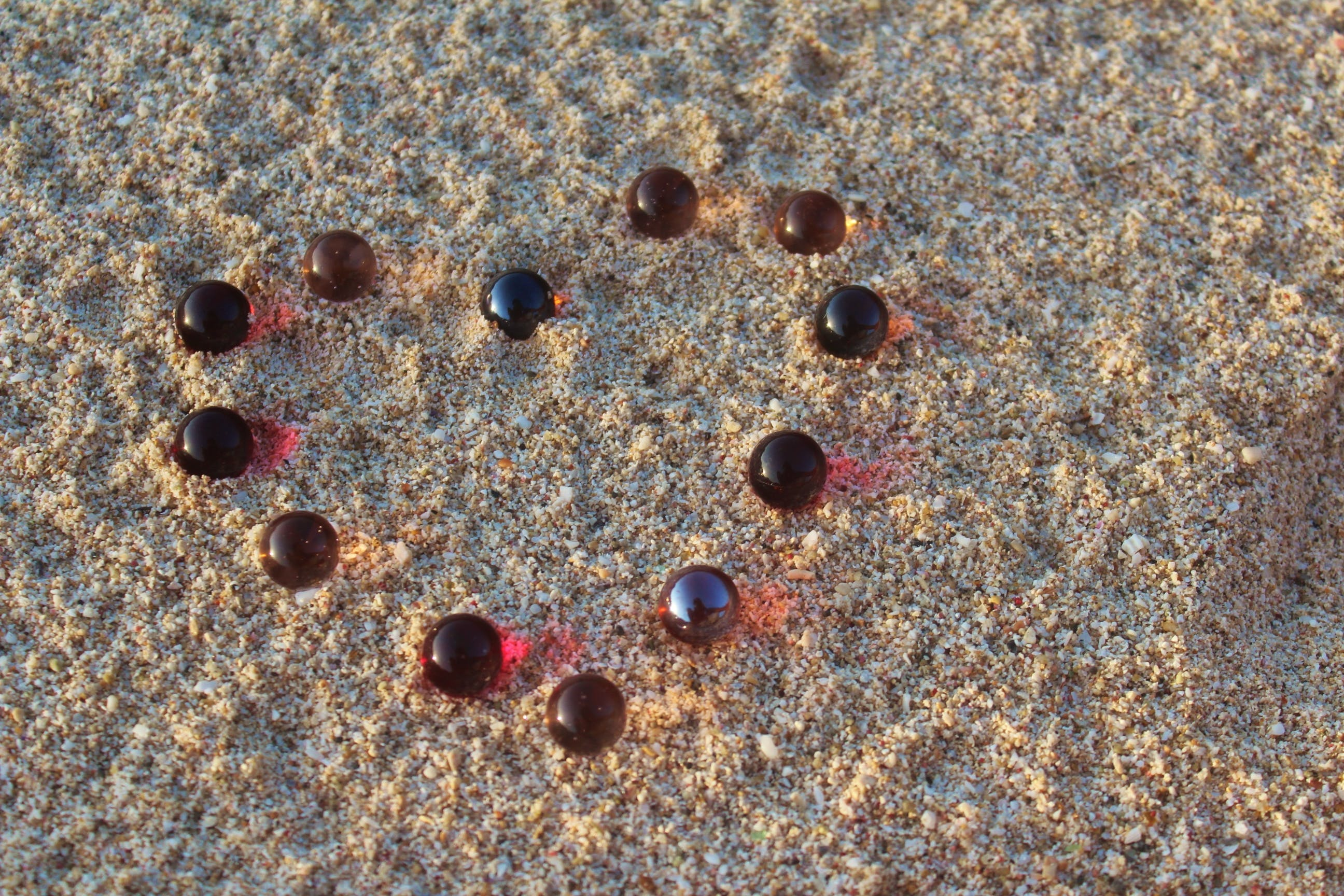 Free stock photo of Beach art, beach sand, hearts, marble compositions