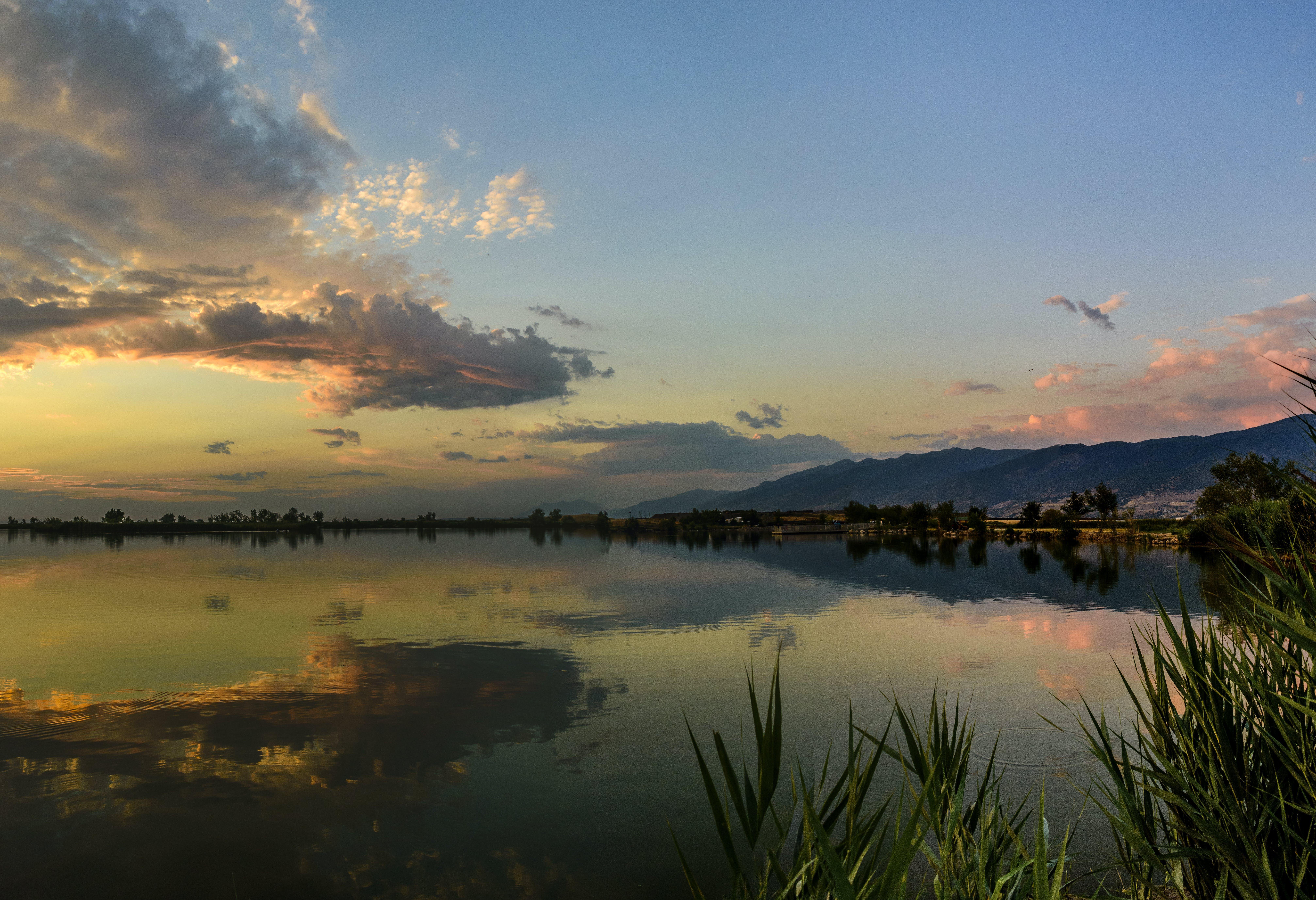 Immagine gratuita di acqua, alba, cielo, natura