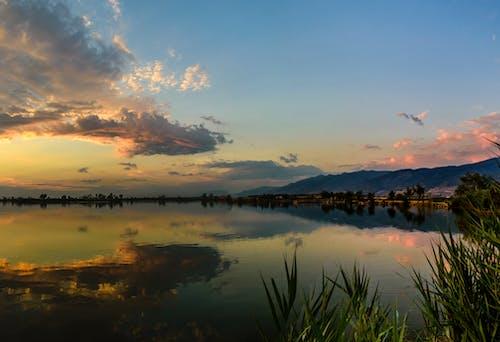 Základová fotografie zdarma na téma jezero, obloha, odraz, příroda