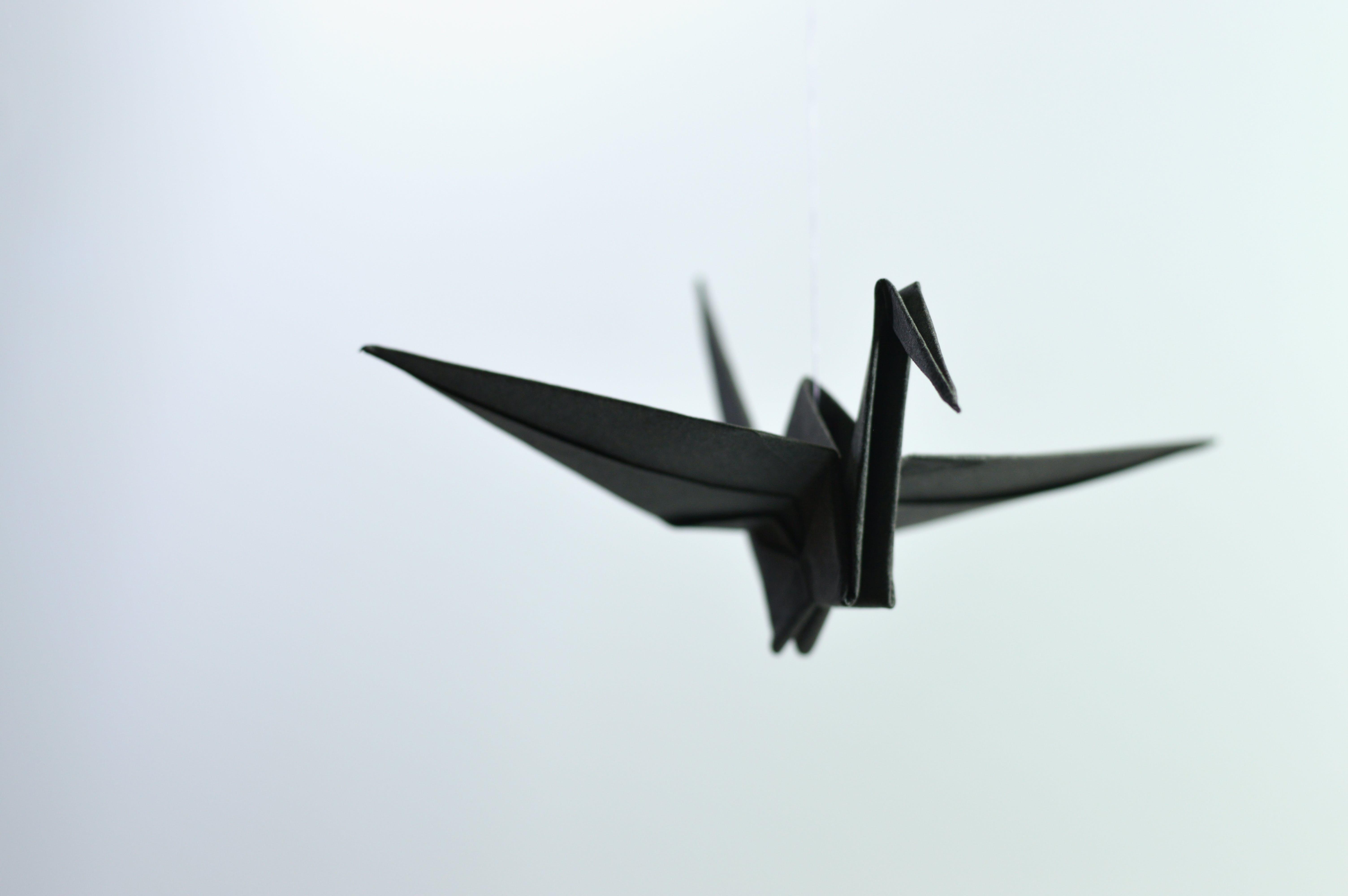 Kostenloses Stock Foto zu handgefertigt, hängen, kran, origami