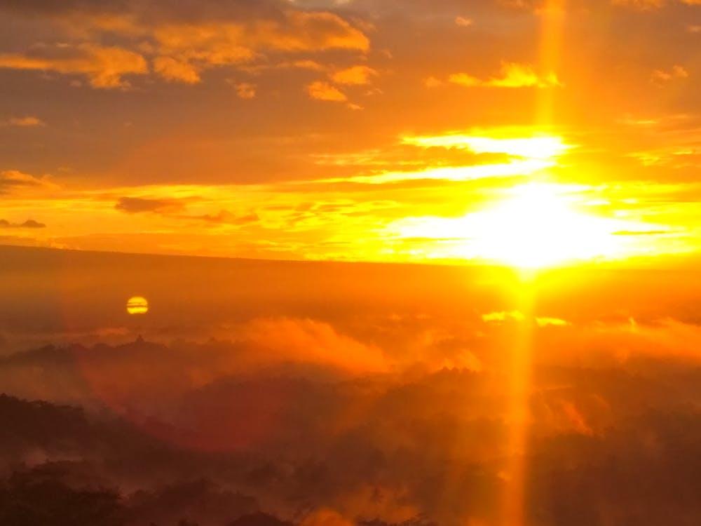 lever de soleil, lever du soleil, soleil levant