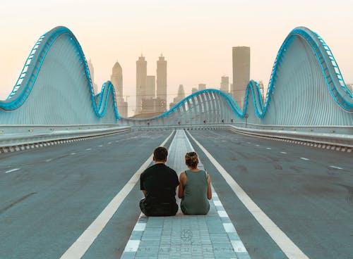 Ảnh lưu trữ miễn phí về ánh sáng, các cặp vợ chồng, cảnh quan thành phố, cầu
