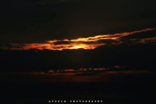 Kostenloses Stock Foto zu dunkel, himmel, sonnenuntergang