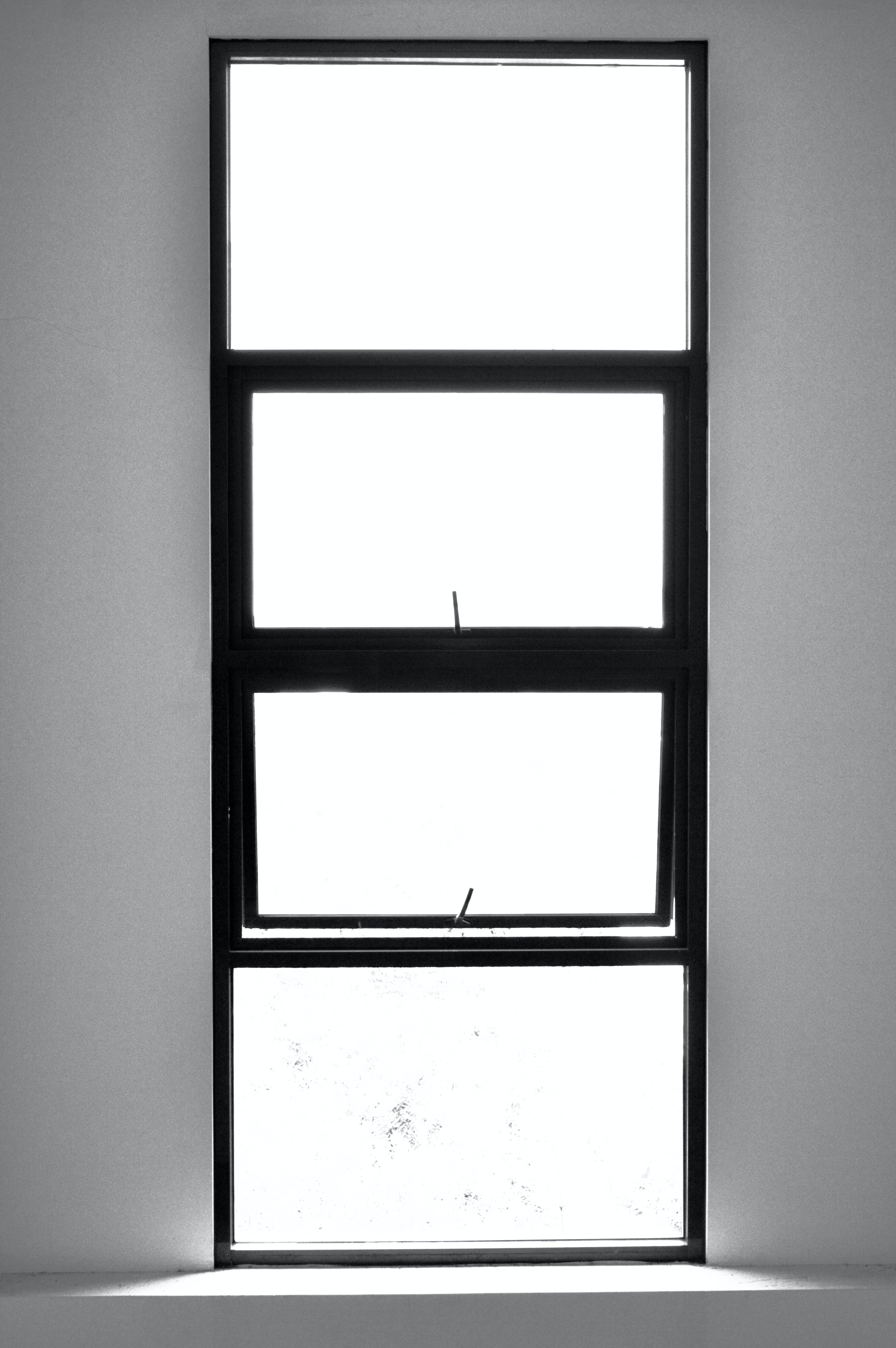 Free stock photo of light, window, black and white, minimalsm