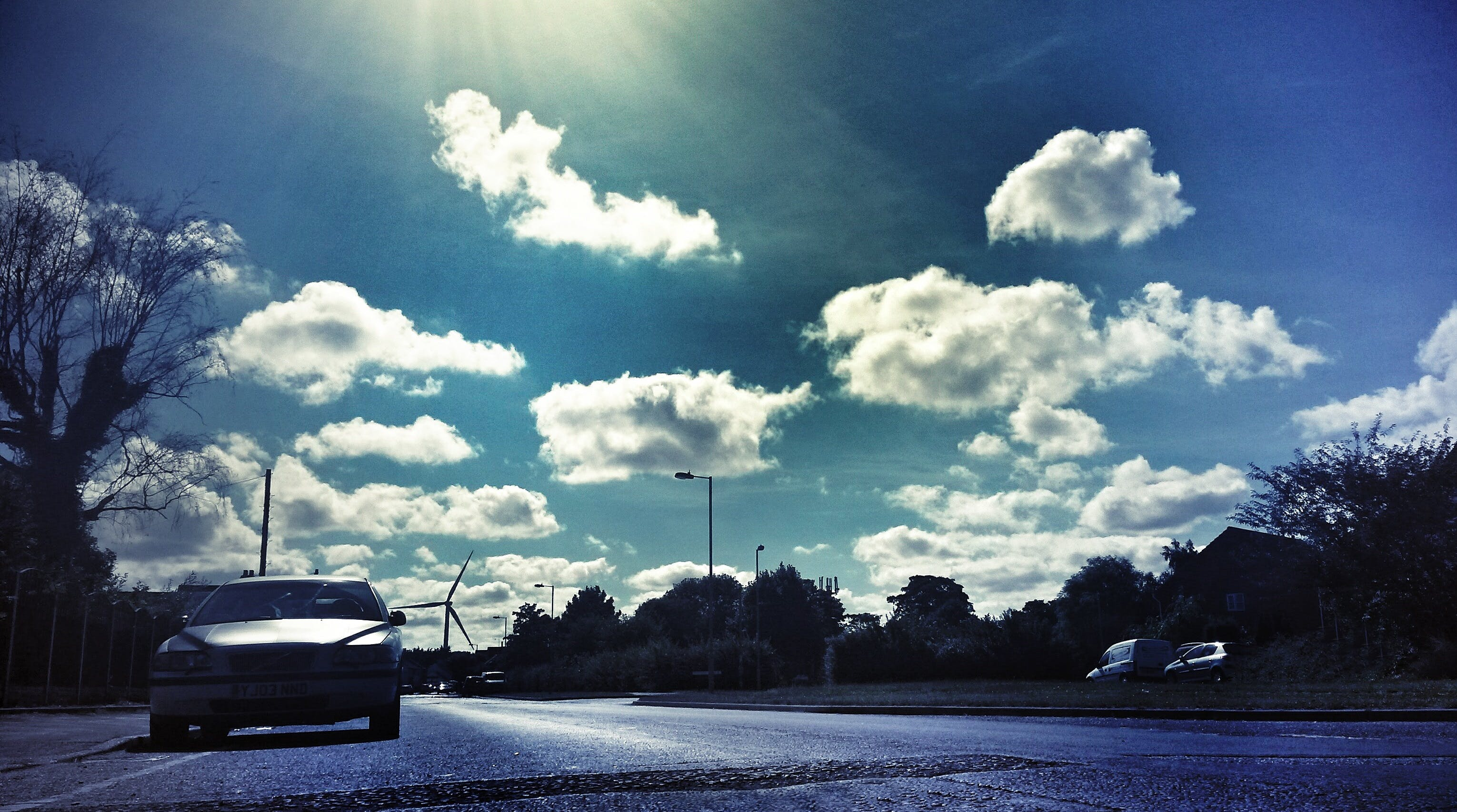 Free stock photo of road, sky, clouds, street