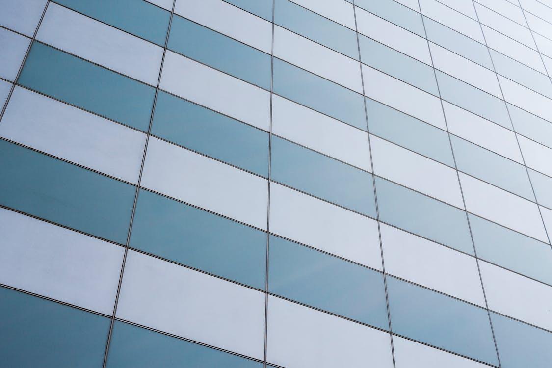 architettura, bicchiere, edificio