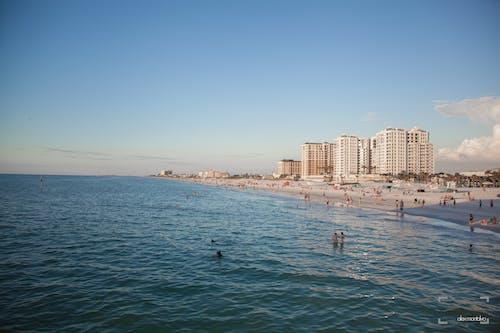 Бесплатное стоковое фото с гостиницы, пляж