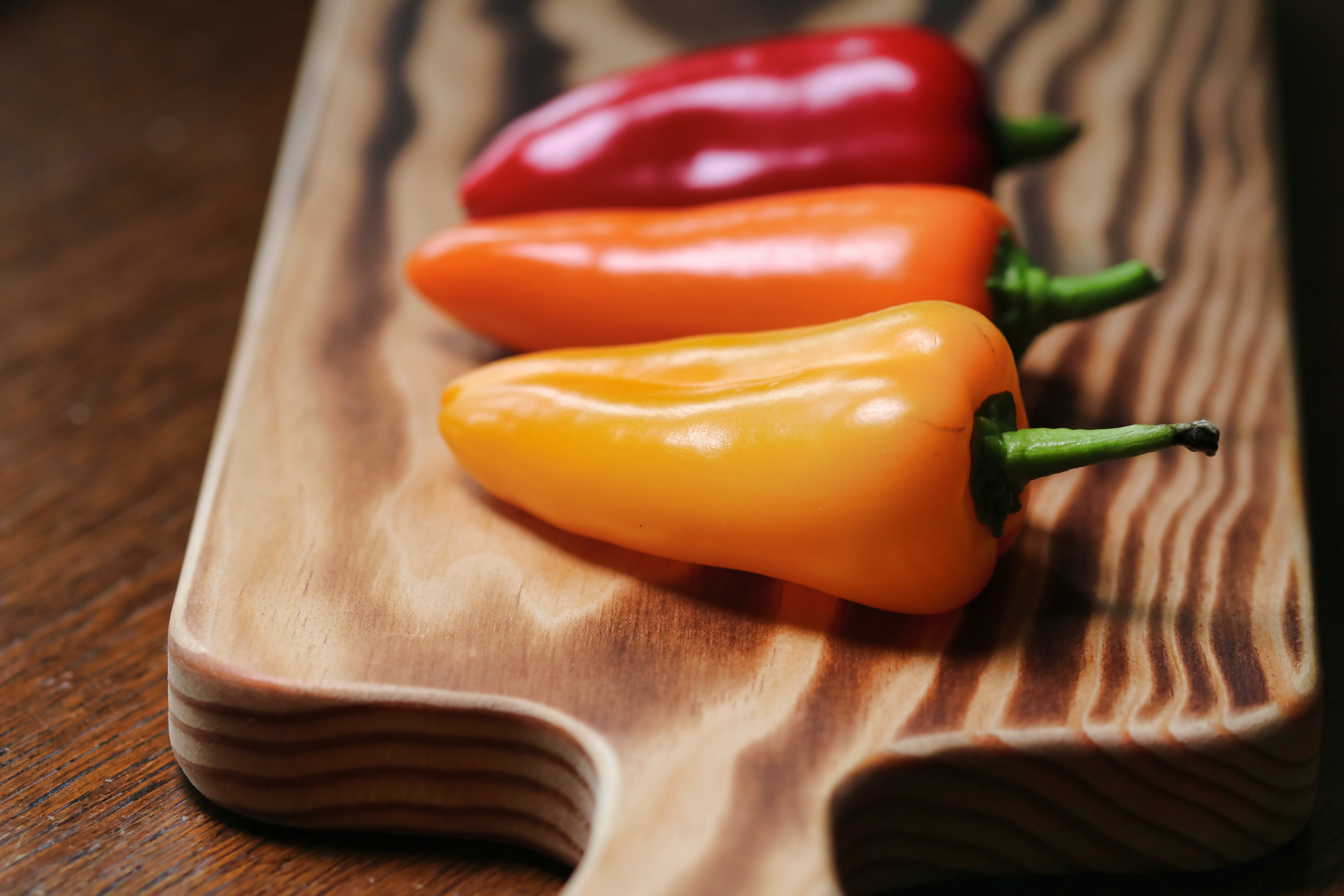 Photo of Three Chili Peppers