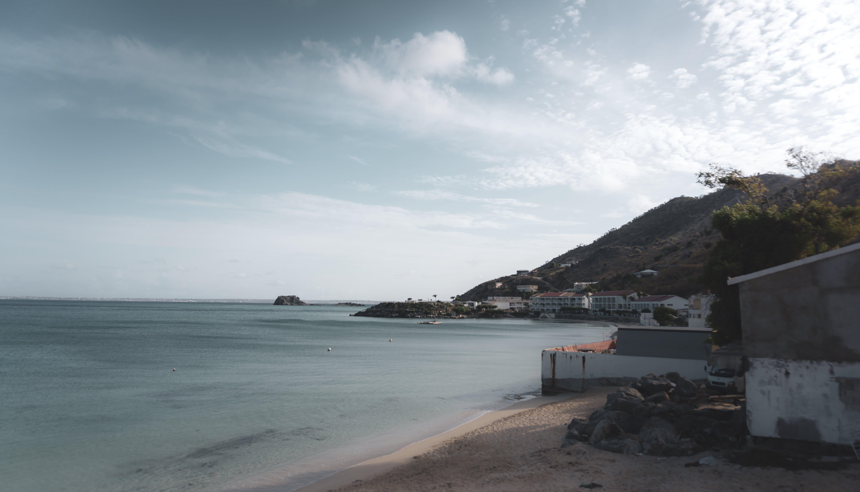 Free stock photo of background, landscape, mountain, Sint Maarten