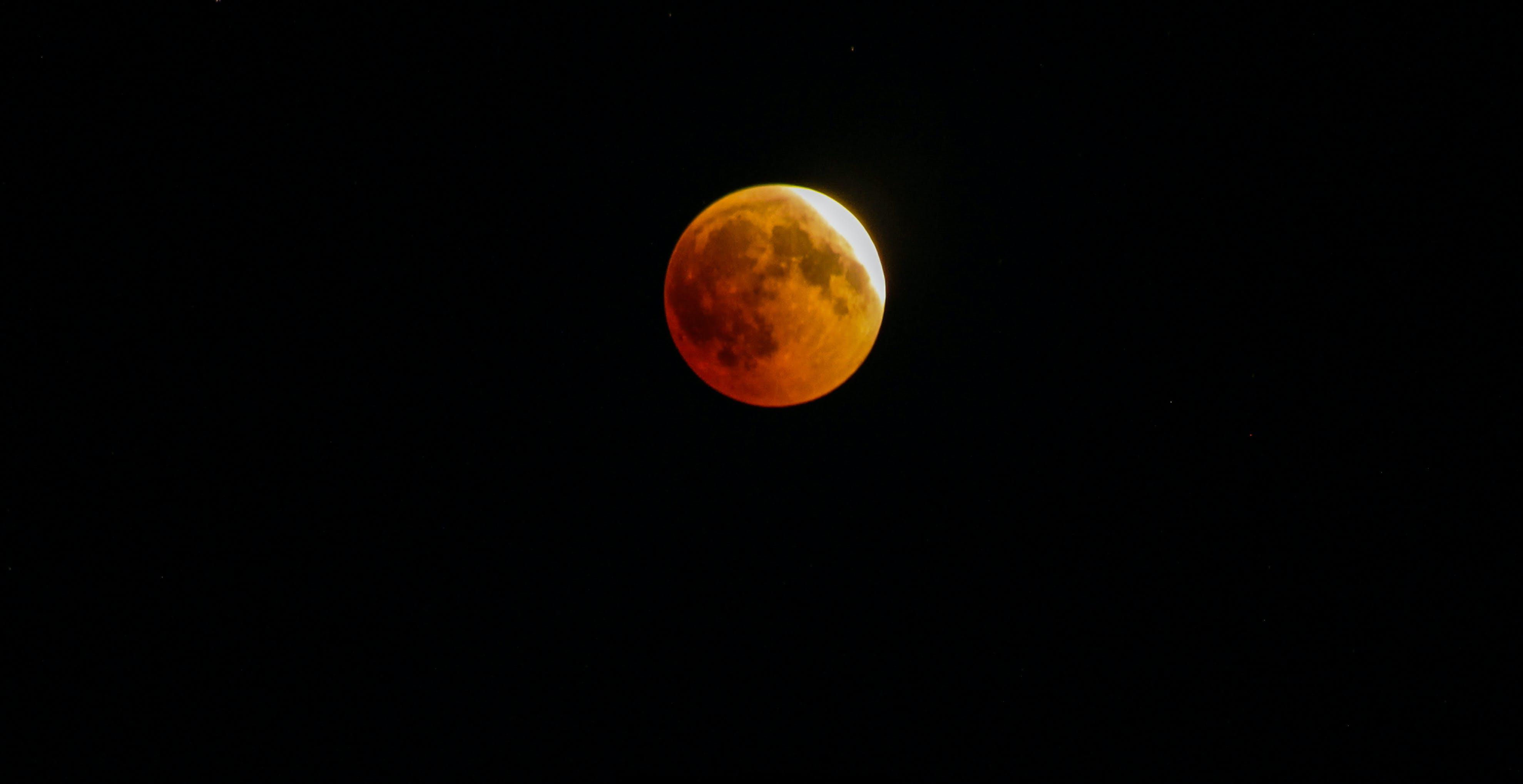 Free stock photo of sky, moon, Syria, blood moon