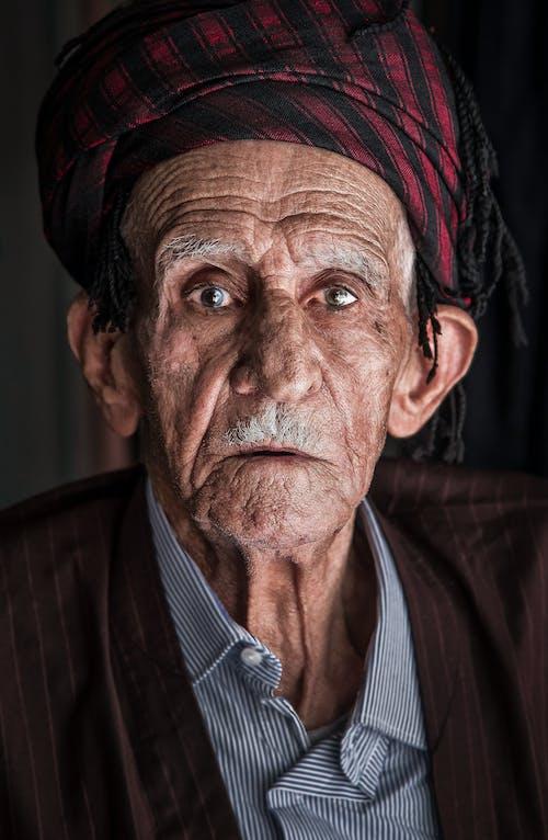 Ingyenes stockfotó álló kép, arc, Férfi, idősek témában
