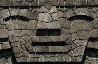 art, rocks, bricks