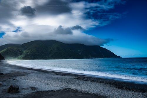 Ingyenes stockfotó hangulatos felhő, óceánpart témában