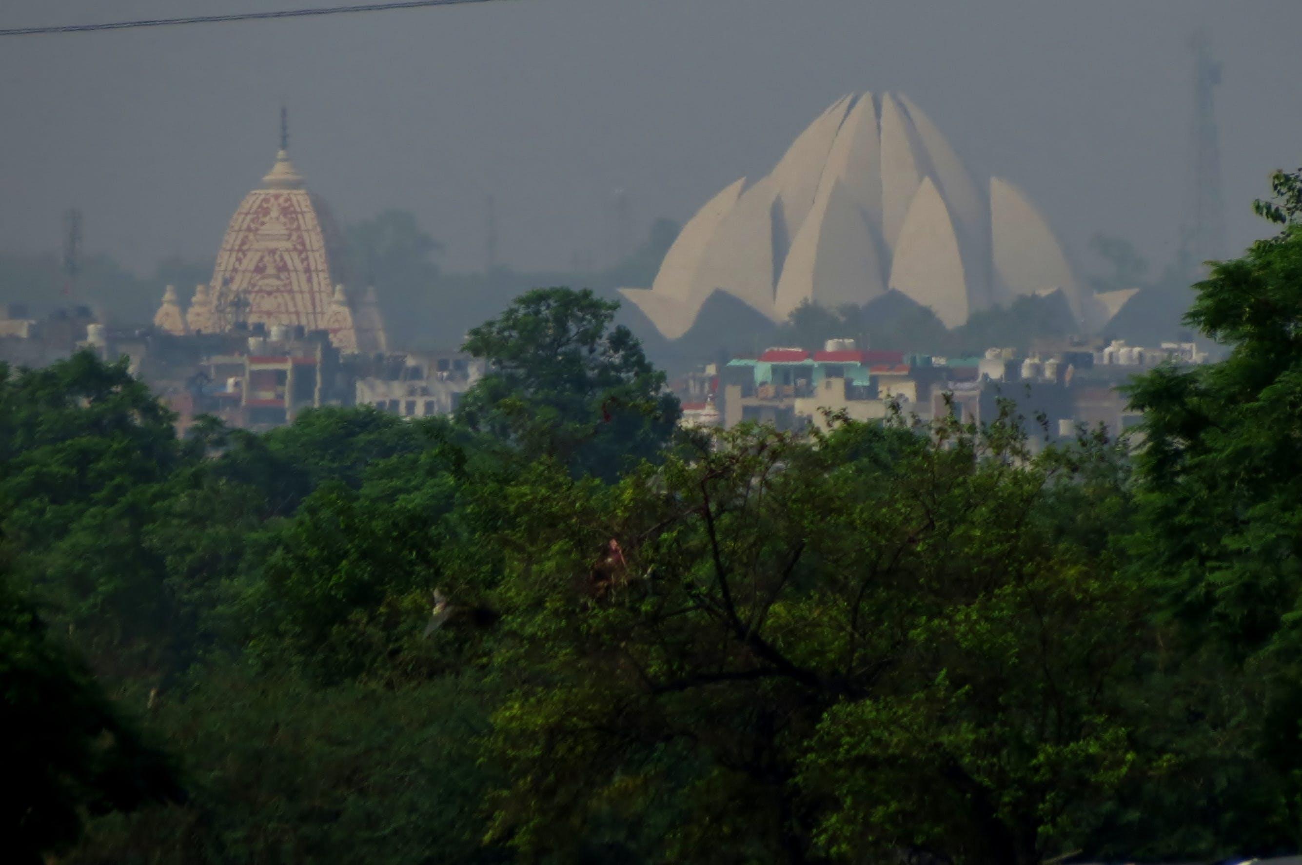 Foto profissional grátis de bhai temple, templo de lótus
