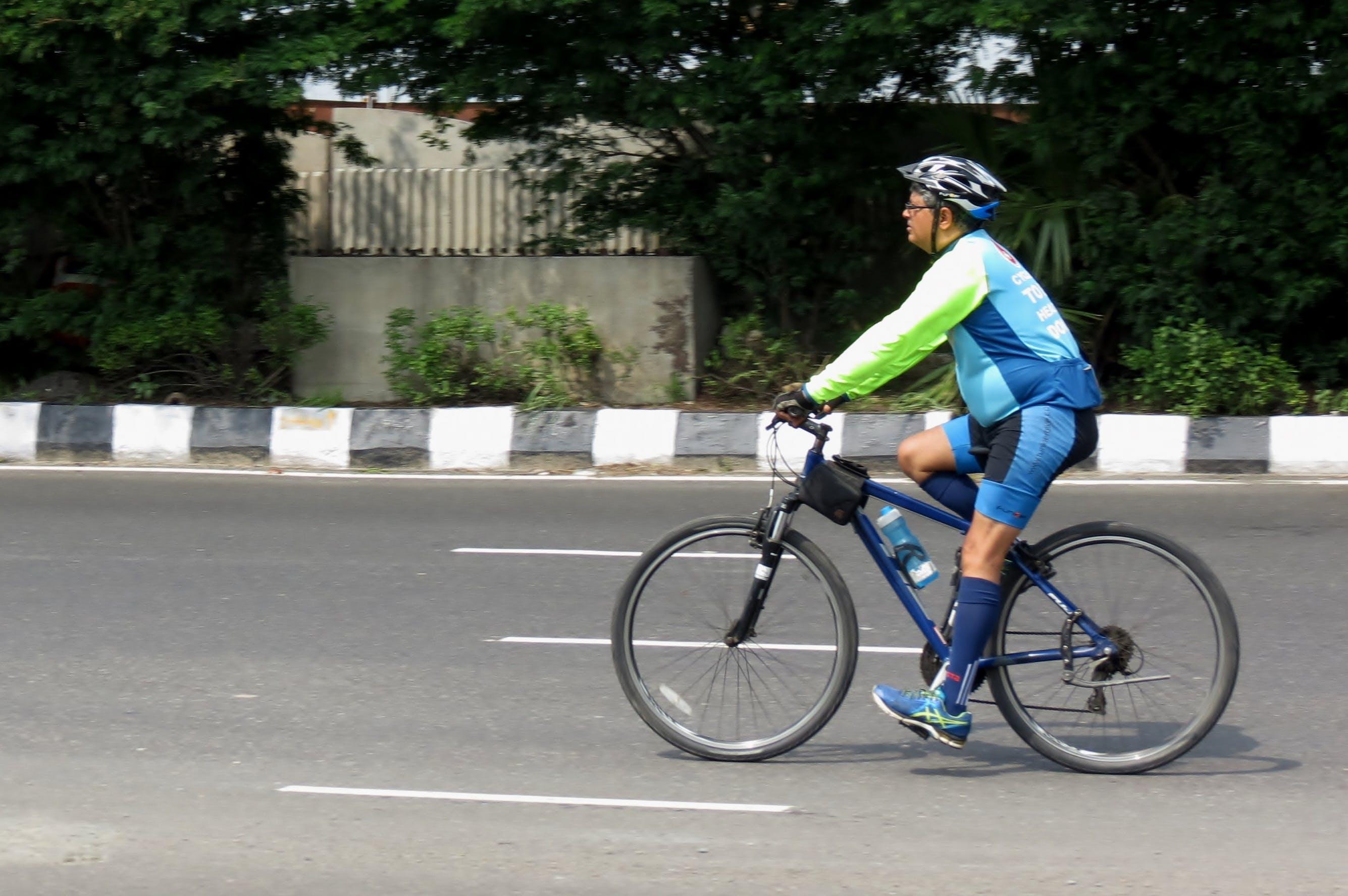 Foto profissional grátis de ciclismo