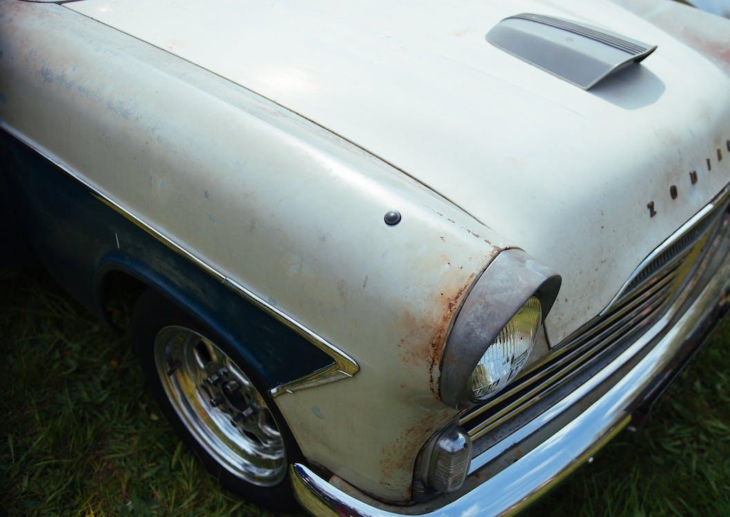 chrome, vintage, αυτοκίνηση