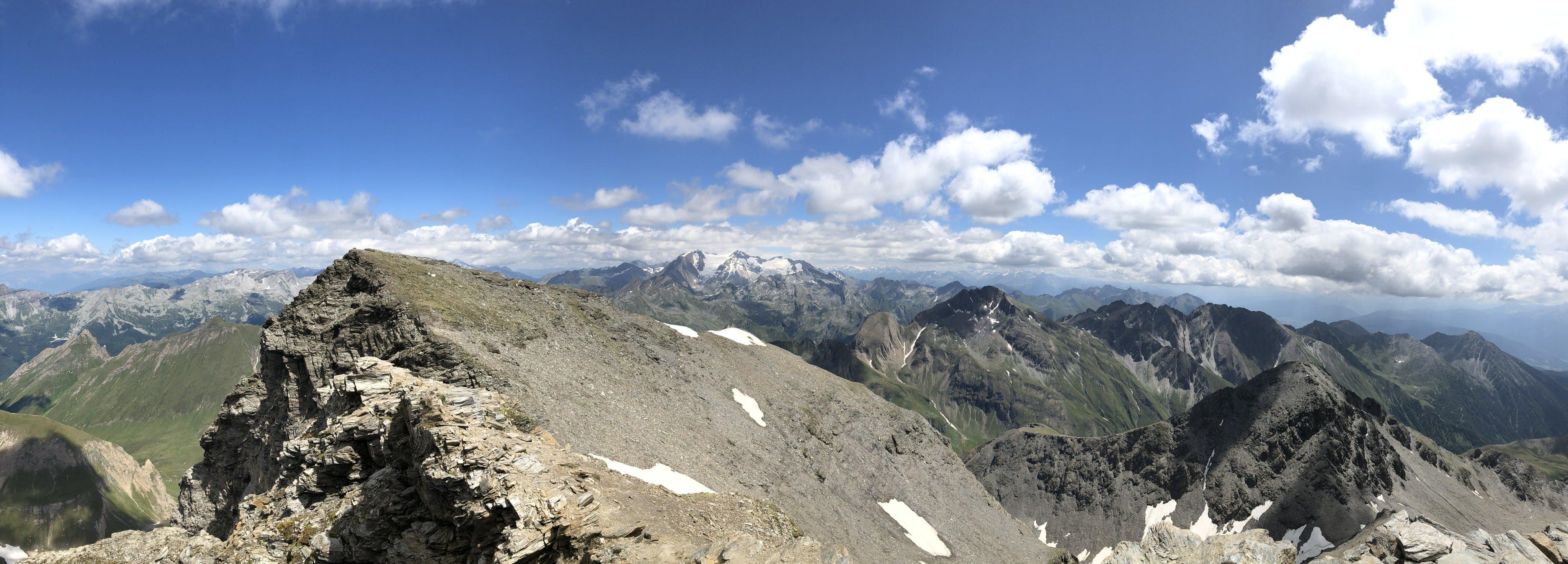 Free stock photo of mountain, panorama
