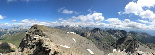 Foto d'estoc gratuïta de muntanya, panorama