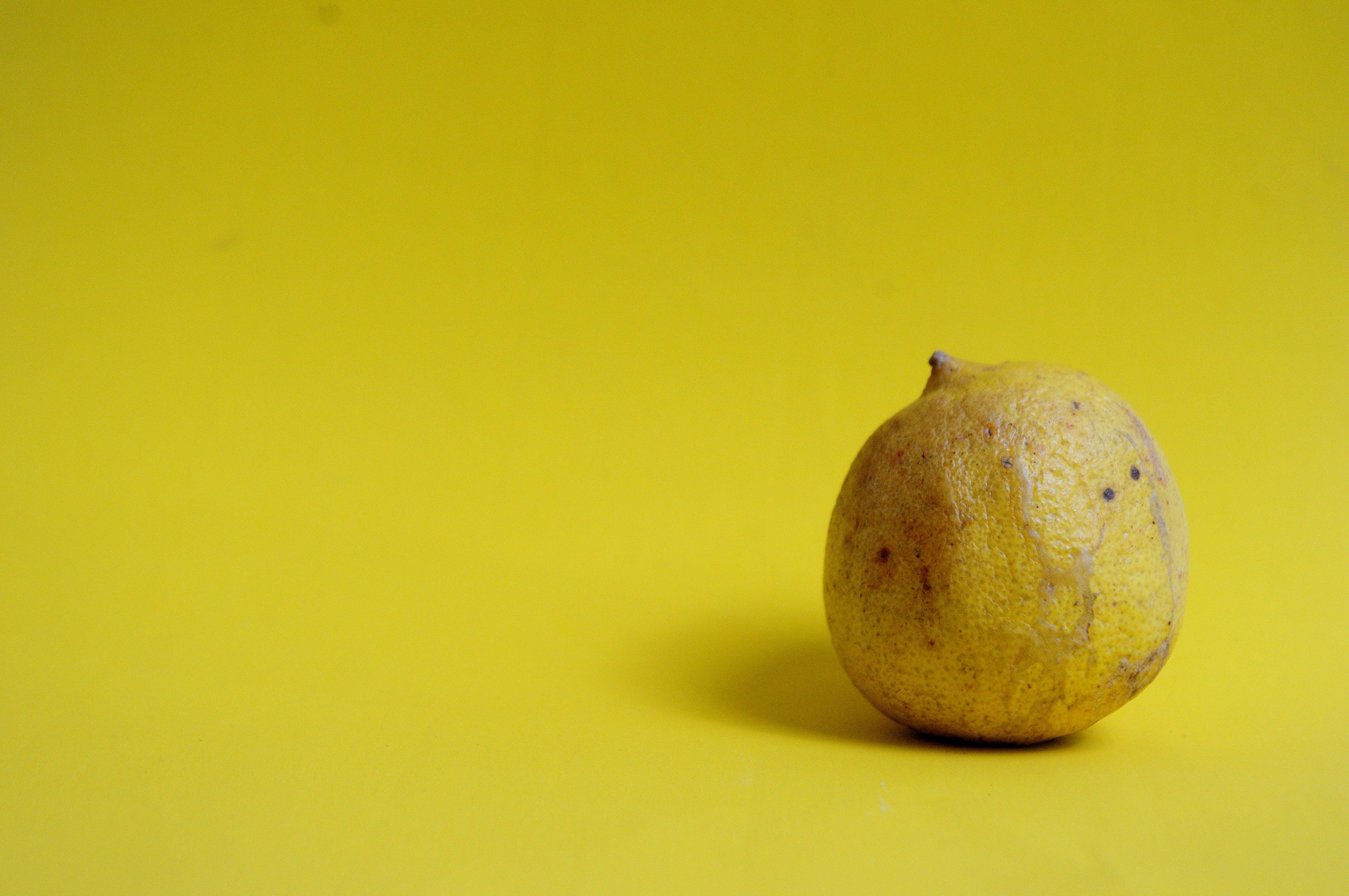 Kostenloses Stock Foto zu gelb, zitrone