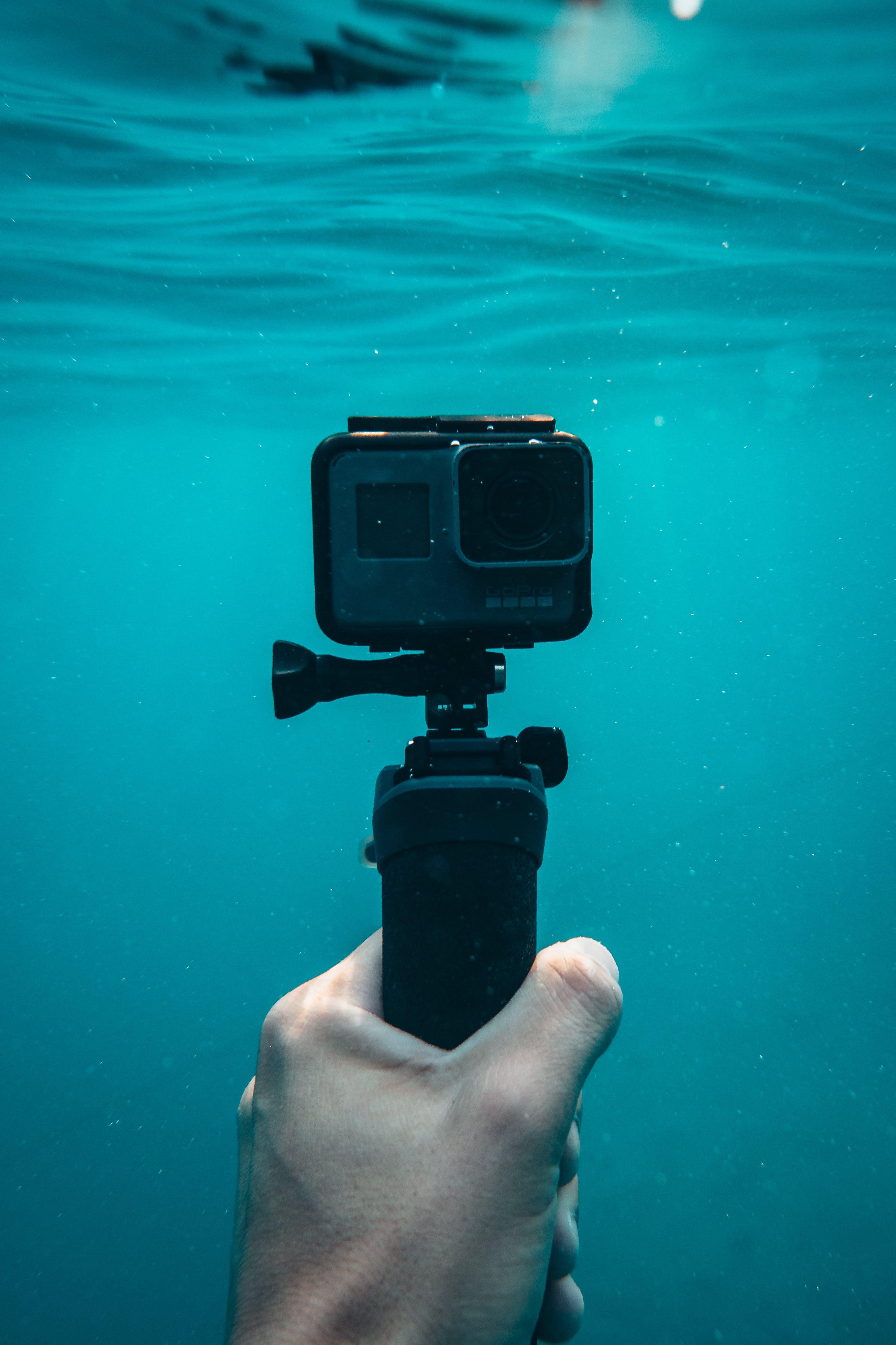 Gopro Hero5 With Monopod Underwater