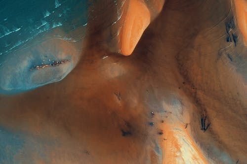 Gratis lagerfoto af bølger, dagslys, fugleperspektiv, vand
