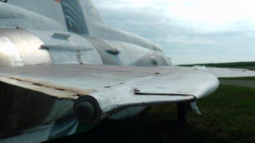 Foto d'estoc gratuïta de ala, ala d'avió, ala plana, Avió de combat