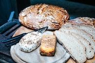 bread, plate, picnic