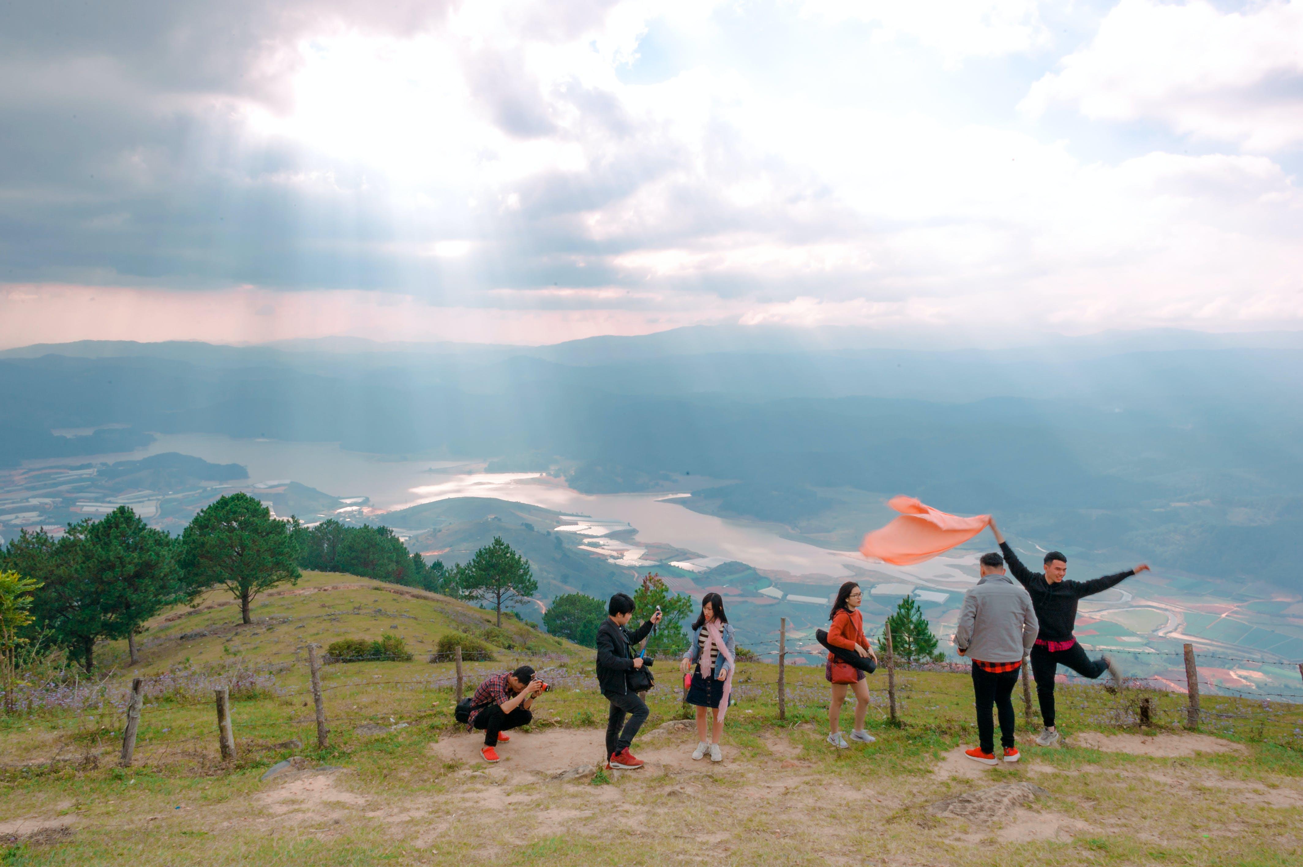 Gratis stockfoto met berg, daglicht, eigen tijd, gozers