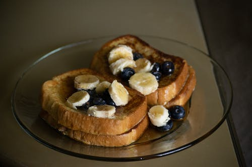 Free stock photo of banana, blueberries, comfort, Comfort Food