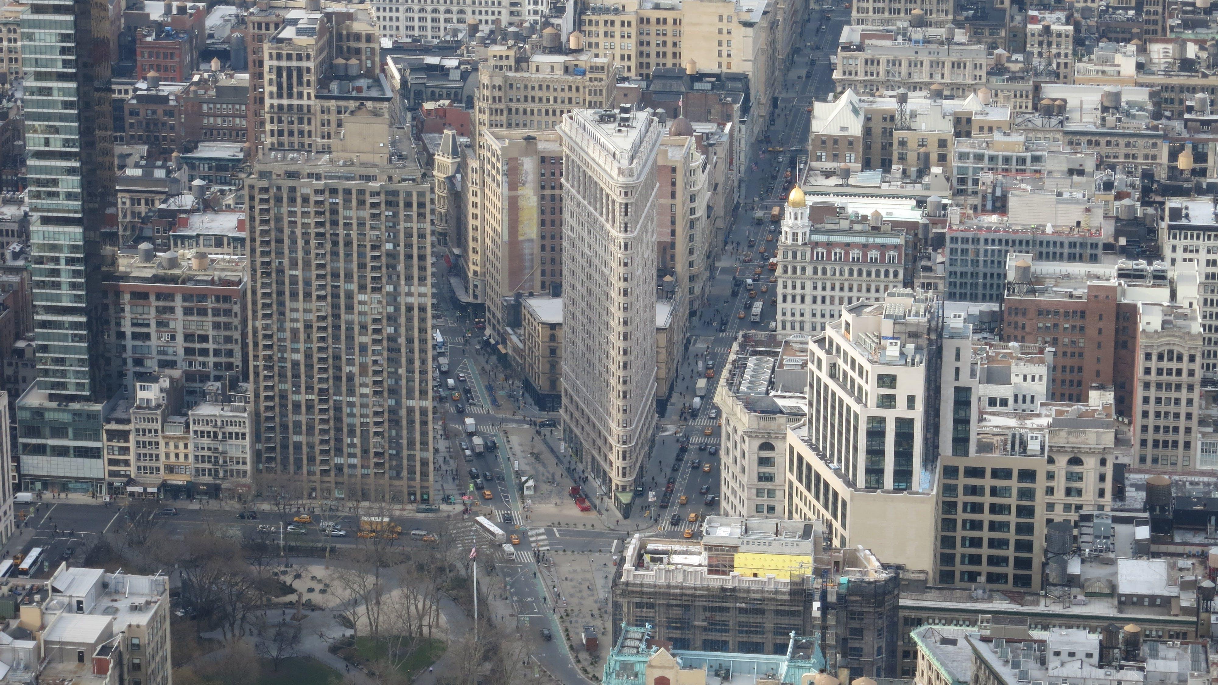 Gratis lagerfoto af Flatiron Building