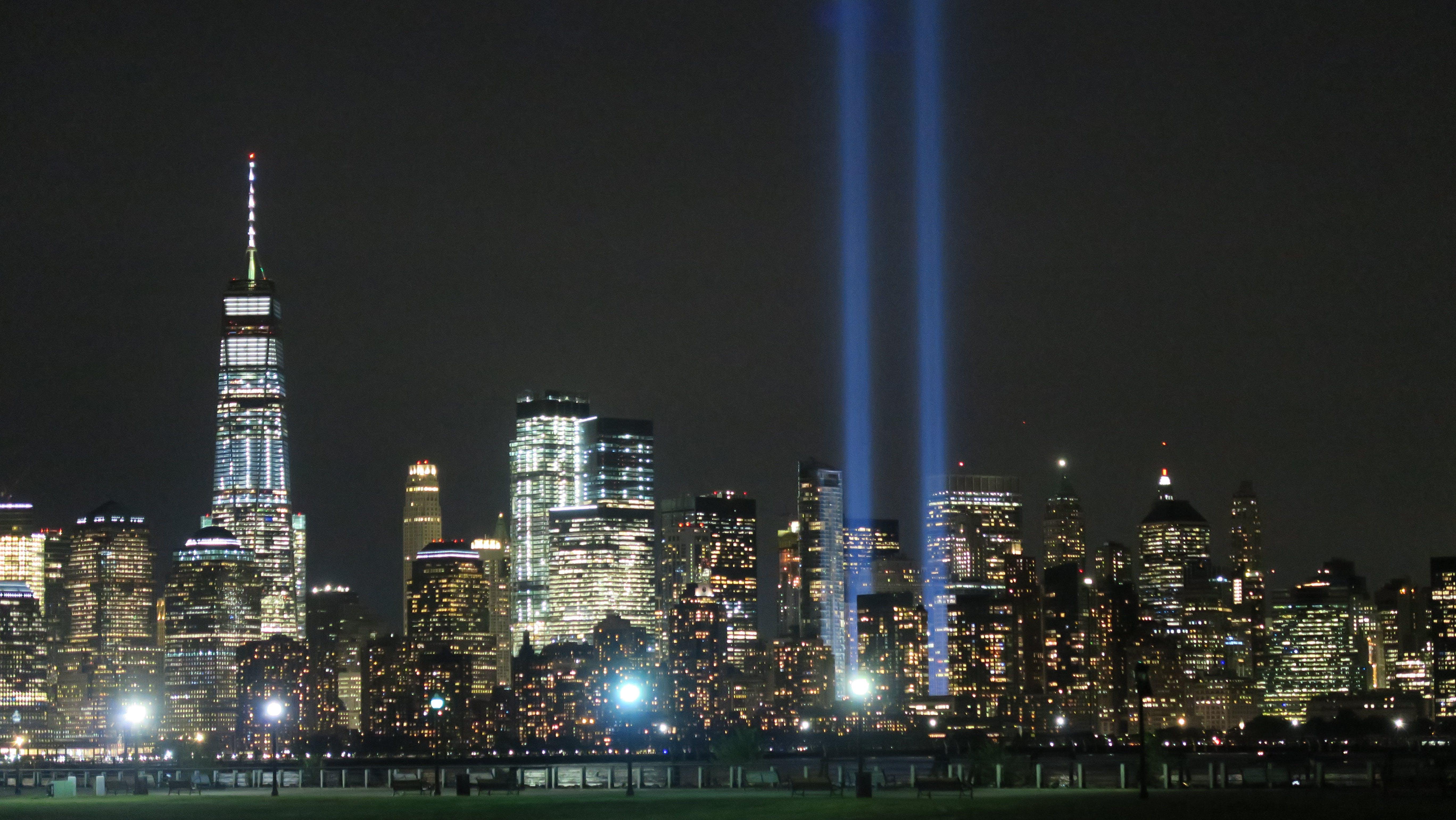 Gratis lagerfoto af 911 mindesmærke