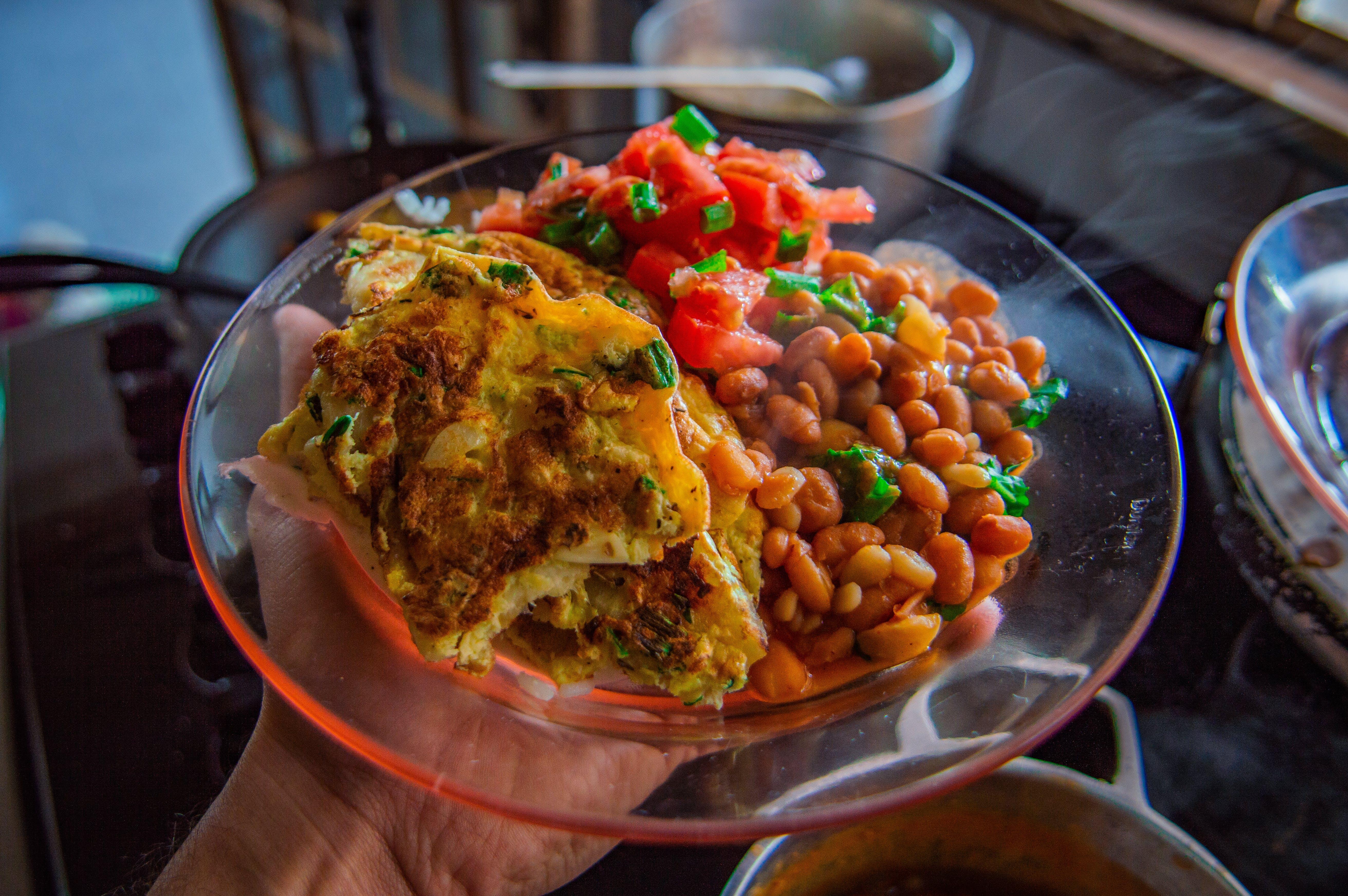 chutný, fazole, fotografie jídla