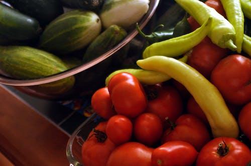 Gratis arkivbilde med ernæring, frukt, grønnsaker, organisk